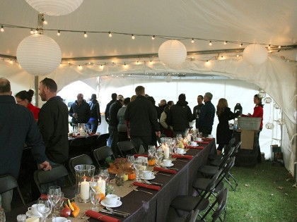 Heritage Harvest, Client Appreciation Event