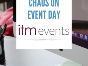An Itinerary Will Help Calm the Chaos on Event Day