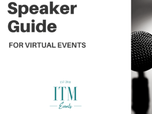 Speaker Guide for Virtual Events