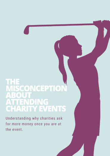 Misconception about charity events